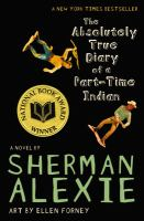 The Absolutely True Diary of a Part-Time Indian cover