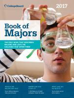 Book of Majors 2017 (College Board Book of Majors)