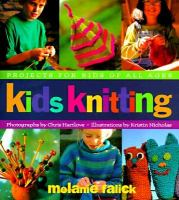 Cover Image of Kids Knitting